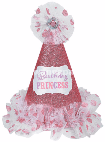Hat Cone Birthday Princess-0
