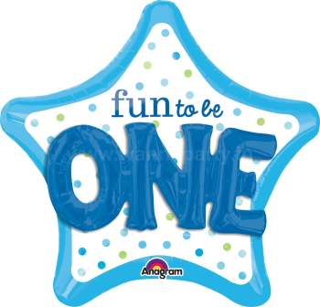 "Fun To Be One Multi Balloon 36"" P75-0"