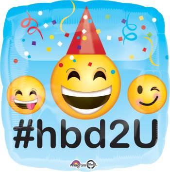 "Emotions HBD2U Balloon 18"" S40-0"