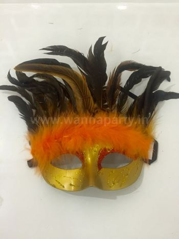 Dense Feather Mask-0
