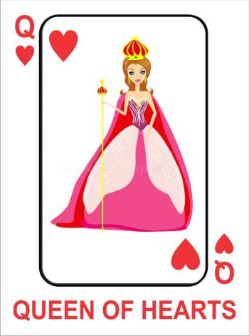 Queen of Hearts Photo Prop-0