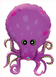 "Amazing Octopus Shape Balloons 35""-0"