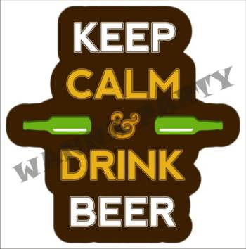 Keep Calm - Drink Beer-0