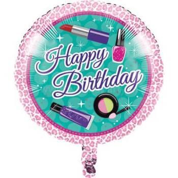 "Glitzy Girl Foil Balloon 18""-0"