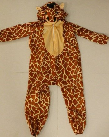 African Safari Giraffe Costume -0