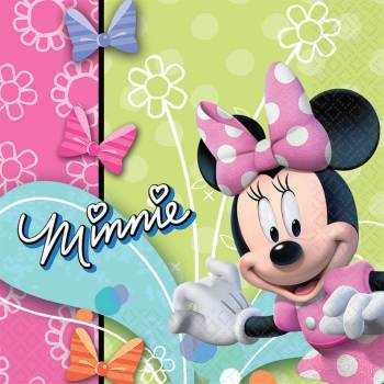 Minnie Mouse Lunch Napkins - 16PC-0