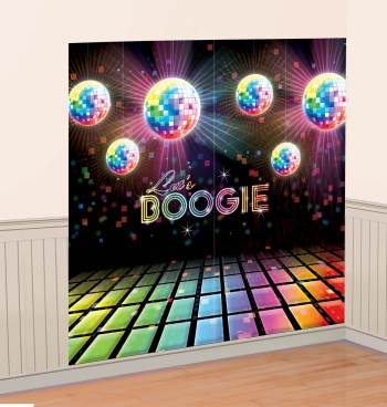 "Disco 70s Decoration Kit - 65x64""-0"