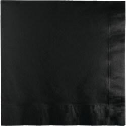 Black Lunch Napkins - 50PC-0