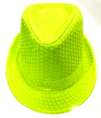 Neon Sequin Hat-0