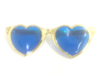 Heart Shape Jumbo Metallic Shades-0