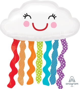 "Rainbow Cloud SuperSahpe 30"" P35-0"