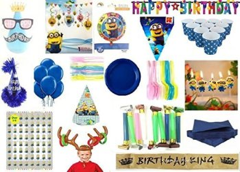 Wanna Party Minions Party Kit-Party On Demand Package-0