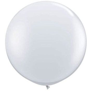 "Transparent Bladder Balloon 36"" -1PC-0"