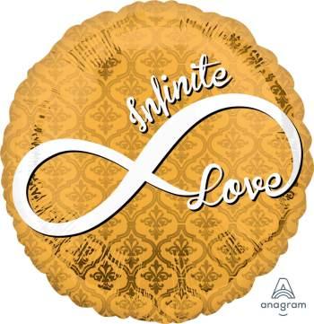 "Infinite Love Balloon 18"" S40-1PC-0"