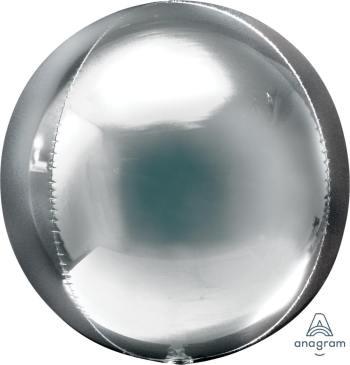 """Silver Orbz Balloons 16"""" G20-0"""