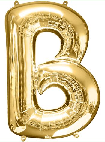 "40"" Alphabet B Balloon-0"