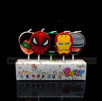 Avenger Theme Candles - 5PC-0