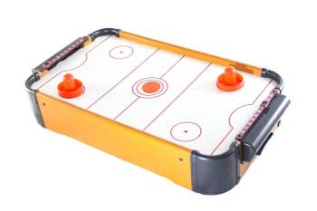 Mini Wooden Air Hockey Table Rechargeable 69CM-0