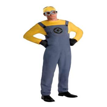 Adult Minion Costume-0