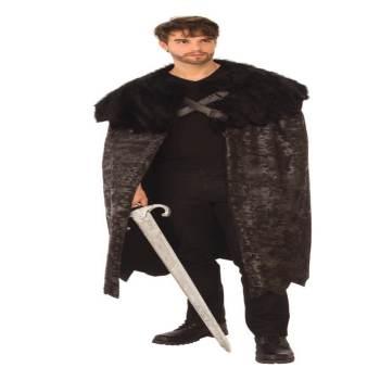 Adult Dark Swordsman Cape-0