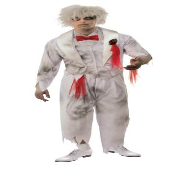 Adult Ghost Groom Costume Standard-0