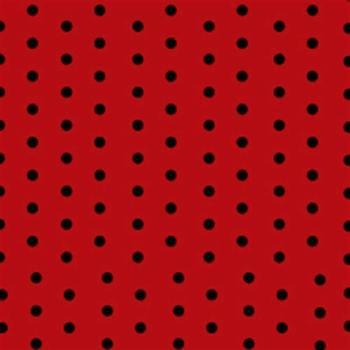 Red & Black Polka Dot Paper Napkins -20PC-0