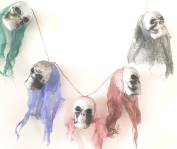 Skull Ghost Necklace-0