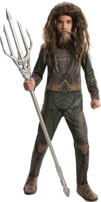 Kids Aquaman Costume Small-0