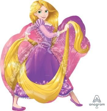 """Rapunzel Balloon 31"""" P38-0"""