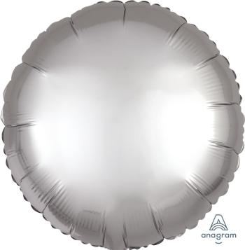 Satin Luxe Platinum Silver Circle S15-0