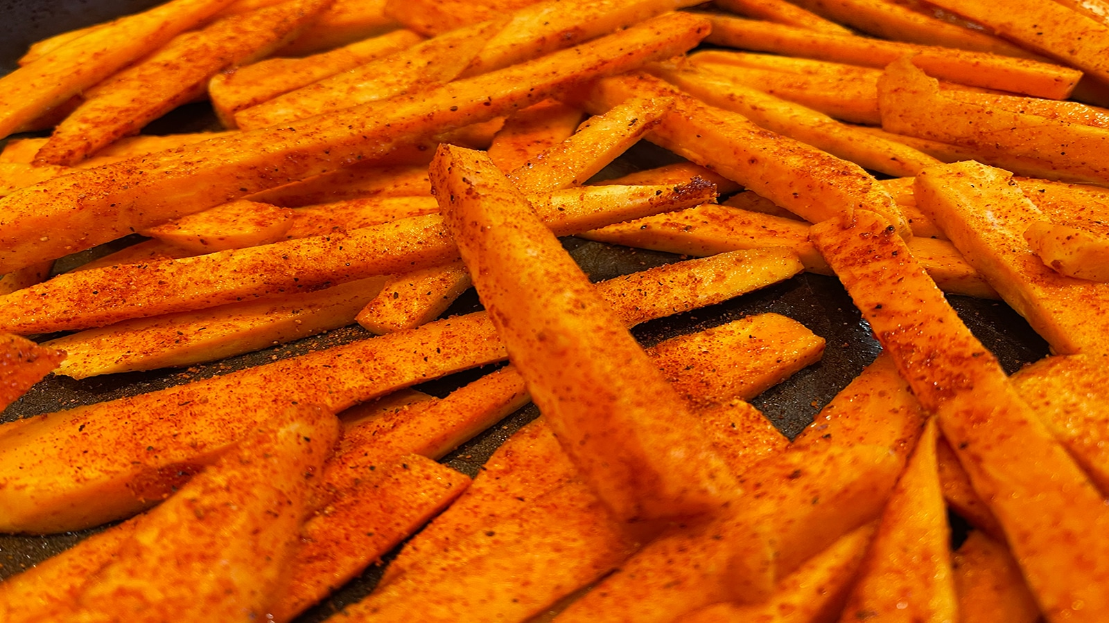 WannaRub Sweet Potato Fries