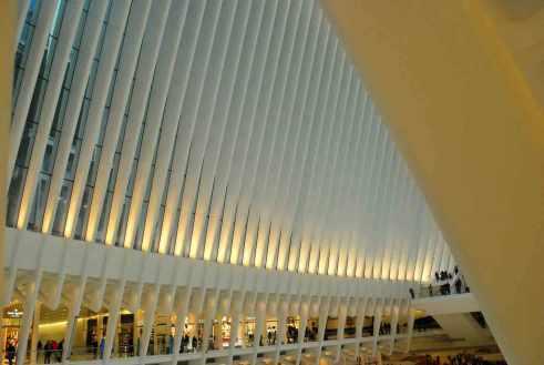 de ondergrondse galerijen van Calatrava