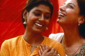 Fire (1996, India) Directed by Deepa Mehta Shown from left: Nandita Das, Shabana Azmi