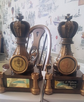 Tournament Battle trophies
