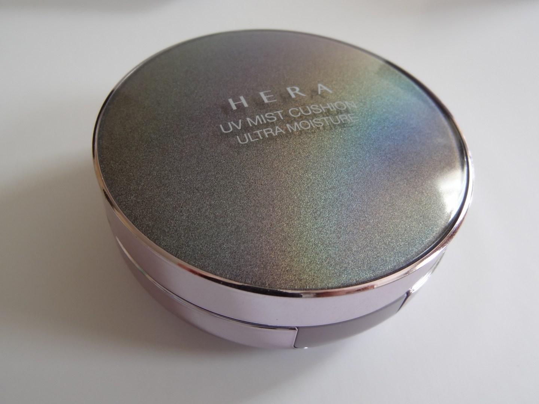 REVIEW: Hera UV Mist Cushion Ultra Moisture (No.21 Cool Vanilla)