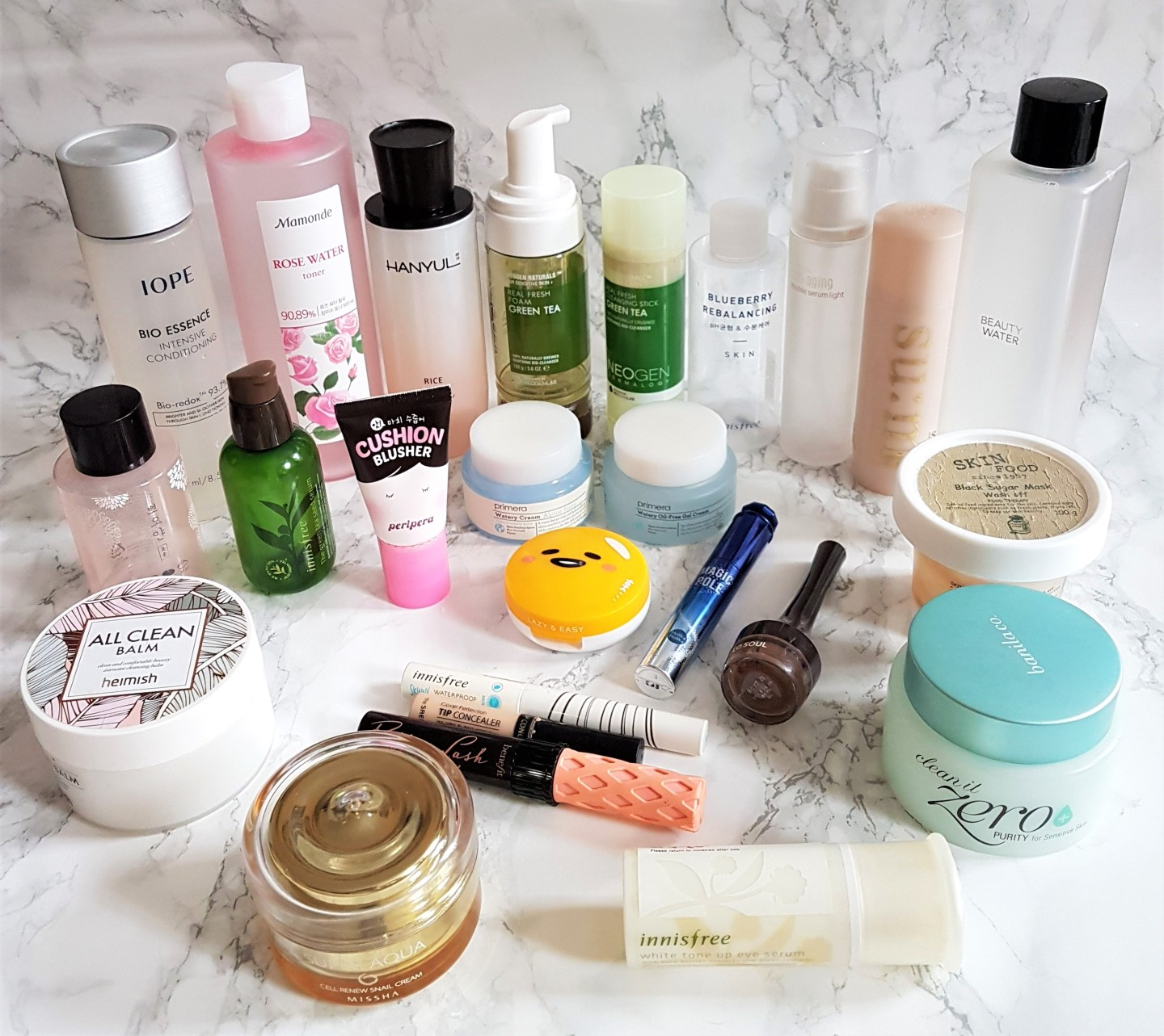 Skincare and Makeup Empties 2017…so far