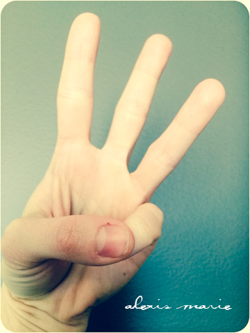 finger counting photo copyright Alexis Marie Chute Wanted Chosen Planned 3