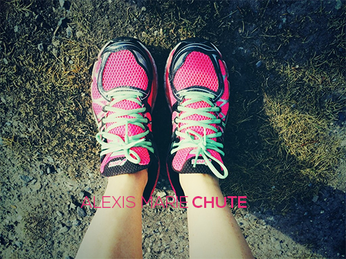running shoes baby memorial walks alexis marie chute