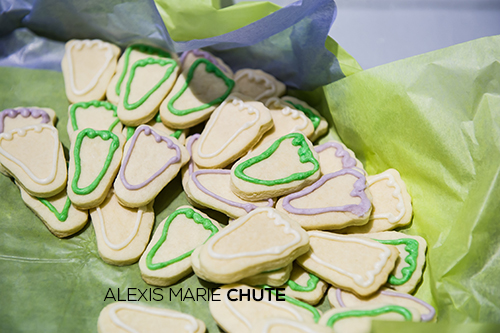 Baby Steps Memorial Walk 2014 Alexis Marie Chute public speaker baby feet cookies