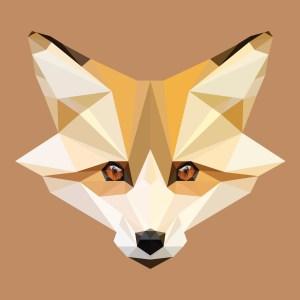 Low Poly Fox Head