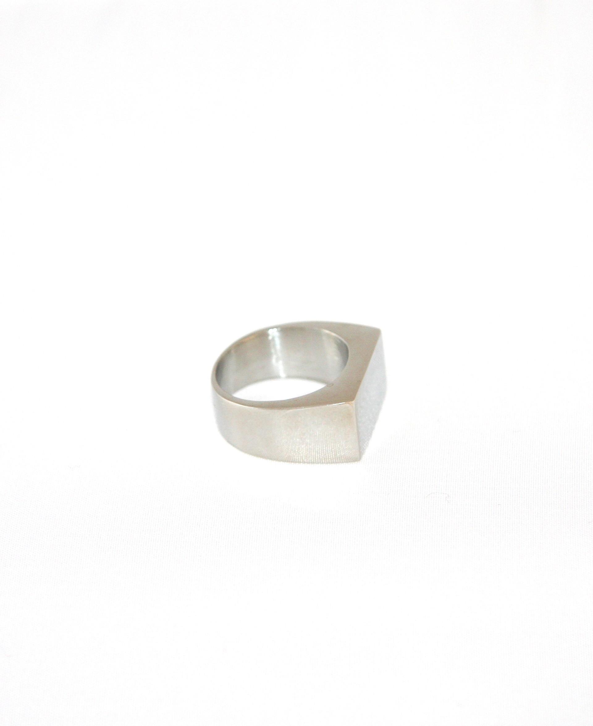 Simple\' Ring Steel - WANTEDSTORE