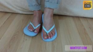 Sexy Feet in Flip Flops