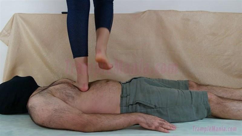 Crystal's Barefoot Hard Trampling
