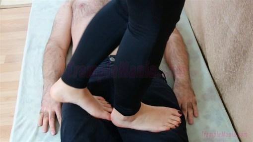 Rachel's Barefoot Trampling Video