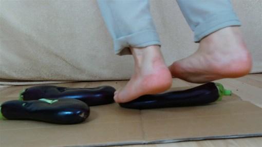 Zelda's Barefoot Eggplant Crush