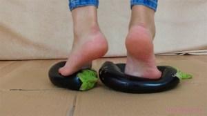 Leah's Barefoot Eggplant Crush