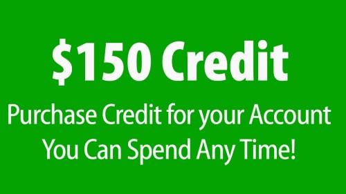 $150 Credit