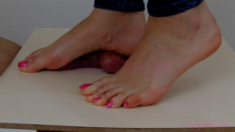 Crystal's Cock & Ball Trample POV