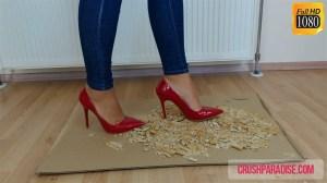 Rachel's High Heels Biscuit Crushing Video