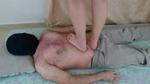 Crystal's Barefoot Hard Trample